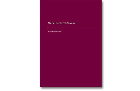 CD Manual Weberbank